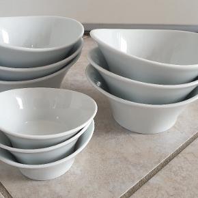 Fine skåle, 6 store + 3 små..😊