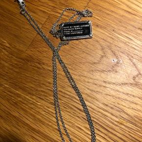 Name-tag halskæde, ca. 70 cm lang
