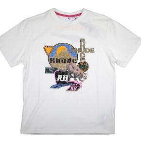 Rhude x Puma t-shirt  Brugt 1 gang  Str M