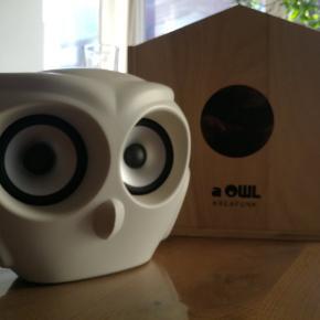 Sælger denne a owl højtaler ikke brugt meget men lidt brugs skrammer. Virker som den skal. Nypris er 1500. Åben for bud