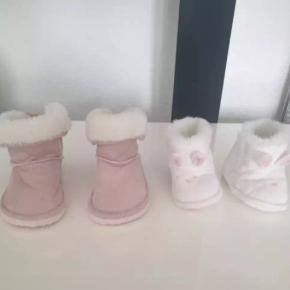 bamsesko kun brugt en gang i str 4 til 5 mdr. og kanin sko også kun brugt en gang 6 til 9 mrd. fejler intet. 70 for dem begge to og en for 40 kr. jeg sender men kun hvis i betaler for fragt.