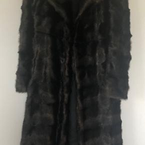 """Zara """"Collection 2018"""" faux fur 70s inspiration coat. Closes in the front with an hook and an eyelet. Never worn, excellent condition."""