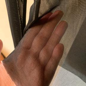Gennemsigtig mesh bluse