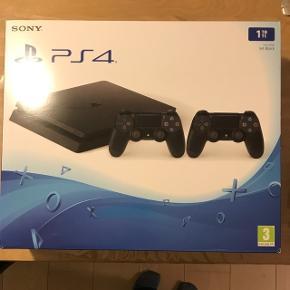 Aldrig brugt eller åbnet. Playstation 4 1 TB