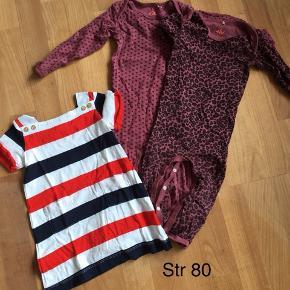 2 x Sofie Schnoor heldragter samt 1 x Petit Bateau kjole