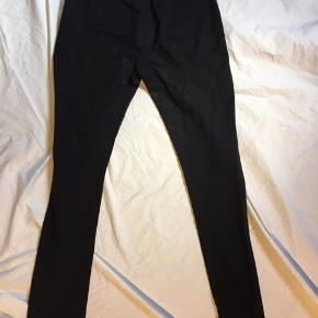 Klassiske Acne bukser i bomuldsagtigt stof