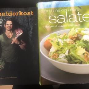 Stenalderkost med Thomas Rode 95kr, Nemme salater 50kr og Den ultimative Bar Bog 145kr