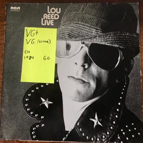 Lou Reed live lp vinyl en plade der er i god stand
