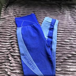 Gymshark Turbo Seamless Leggins - Cobalt Blue 🌟 Aldrig brugte, kun prøvet på.  Rigtig god kvalitet og er squat prof 💫