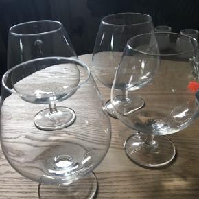 Cognac glas - Har aldrig været i brug 4 stk