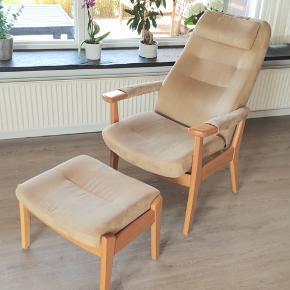 Comfort stol fra Farstrup Comfortcenter, god til ældre eller folk som sidder meget. Nypris 17.000.