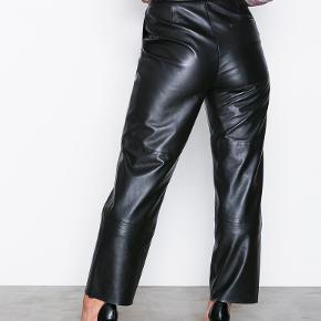 Storia læder leather bukser pants   Str 36 Aldrig brugt