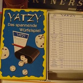 Papirs blokke til yatzy (ikke på dansk)