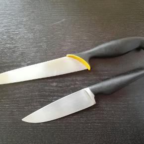 To køkkenknive sælges sammen til 70 eller 50 hver Brugte men stadig gode