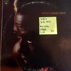 Miles Davis jazz lp Har flere Spørg! Vinyl plade USA pres god stand Cover har lidt slid