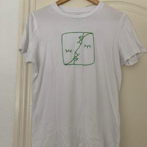 Selected t-shirt med design    #Secondchancesummer
