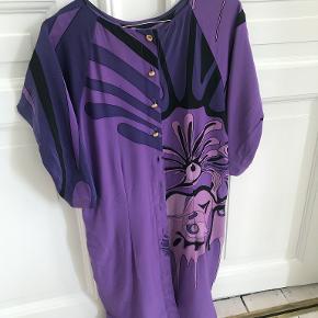 Stine Goya vintage bluse i 100% silke