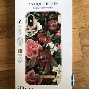 Ideal of Sweden cover iPhone x  Aldrig brugt  Førpris 249