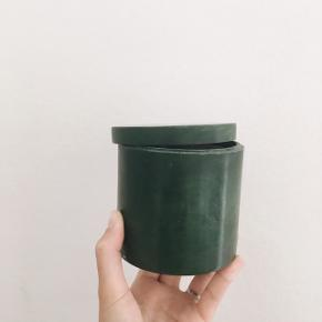 Grøn opbevarings krukke