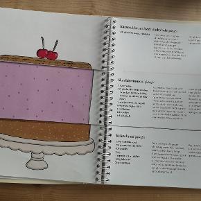 Skøn foldebog fra liv Martine og kagetid. Byg din egen lagkage