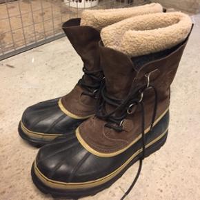 Sorel støvler i str 47/47,5, brugt men stadig rigtig god