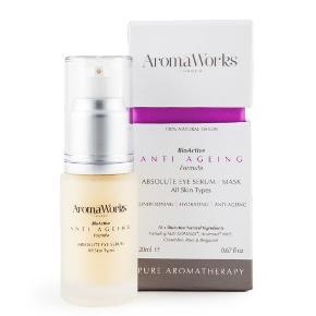 Aroma Works Absolute Eye Serum 20 ml.  Kun brugt én gang.   Købspris 350 kr.  Sælges for 100 kr. plus porto.