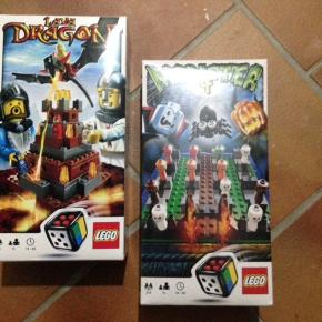 Spil # 3838 Lava dragon Spil # 3837 Monster 4 Det ene spil er folien taget af men aldrig brugt Det andet spil er folien intakt