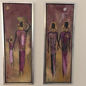 Varetype: Andet Størrelse: 64 x 23 Farve: Ukendt  Malerier
