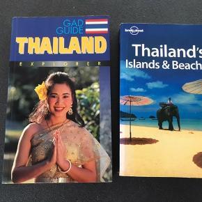 2 gode rejsebøger Om Thailand og Thailands Islands & Beaches Begge bøger 50 kr. Sommer - ferie - vand - Badeferie - rejser
