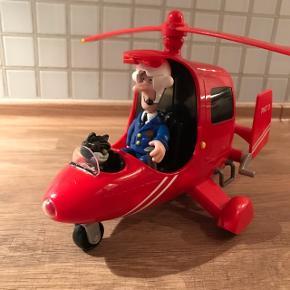 Postman Per helikopter kan lyse og sige lyde