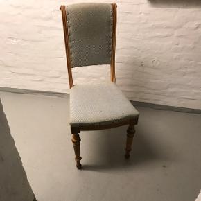 3 antikke stole