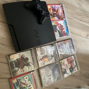 PS3 med spil osv