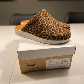 Lækker slippers i leopard