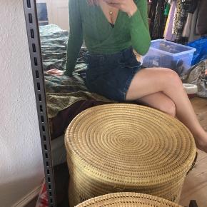 Smuk grøn slå-om trøje 🌷🐸
