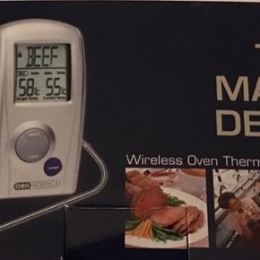 🍗🥩OBH Nordica stege termometer 🌭😎 Digitalt.  Hold øje med grillen/ovnen fra haven og stuen😎 Bruger 2 AA + 2 AAA batterier. (Ikke incl) Brugt få gange.   📦📬 Betaling + Levering igennem Trendsales sikkerhandels system. ( Dao pakkeshop 37kr)  Se mine andre annoncer 🌸🌺👠👗🙂   #Secondchancesummer