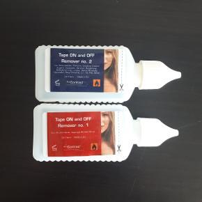 Remover no 1 og remover no 2. 3 af flaskerne er halvt fyldt, og 1 med mindre i.  Hentes i Roskilde eller sender med DAO mod betaling af fragt.