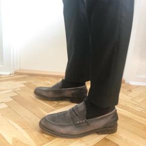 Læder loafers fra Aldo