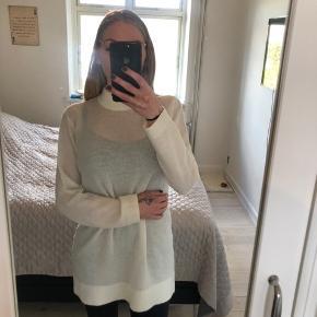 Lang lækker strik - kan bruges som kjole eller trøje  Kun brugt én gang   Se også mine andre annoncer 🌸