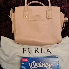 Never used baby pink furla handbag. Come with dust bag only.