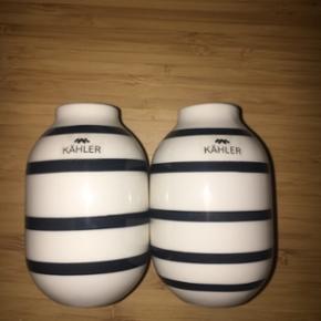 Sælger mine to små kahler vaser  Aldrig brugt  Np 300 Mp 200