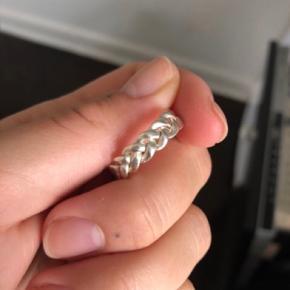 Super fin Jane kønig ring, helt som ny. Strs. 56.