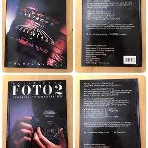 Sælger disse 3 fotobøger skrevet af Thomas Nykrog. Det er Politikens Foto 1 - udstyr og teknik, Politikens Foto 2 - Praktisk Fotografering og Politikens Kreativ Foto. De er som ny, da jeg ikke har læst dem. Kommer fra et ikke ryger hjem. Afhentes i 2990 Nivå eller sendes mod betaling. Sælges kun samlet