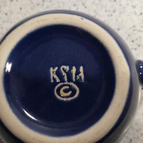 Flot kvalitets kande til fløde/mælk o.l. Keramik.