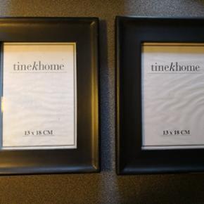 Rammer fra Tine K Home 7 stk haves str 13x 18. 100 kr pr stk. Pp