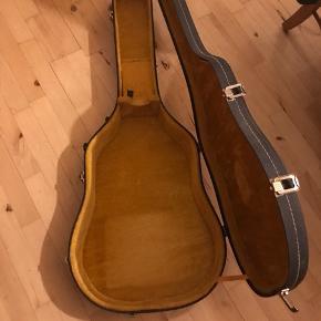 Guitarkasse i flot retro udseende  Guitartaske hardback / hardcase
