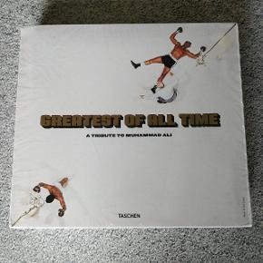 Coffee table book Taschen greatest of all time - a tribute to Muhammad Ali Bogen er på engelsk