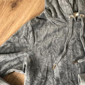H&m velour Hættetrøje grå