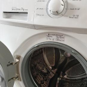 Vaskemaskine, 7 kg, 1400 omdrejninger..med skånetromle. Fejler intet. Sælges pga flytning.