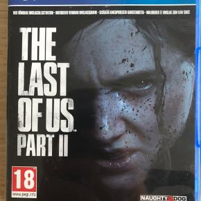 Sælger The Last Of Us 2 Gennemspillet én gang Nypris 388,-