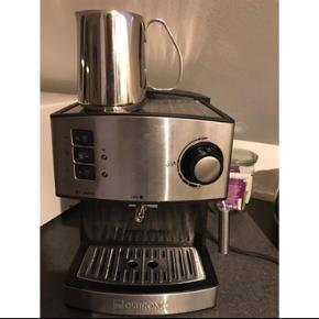 Mælkekande og elektrisk kaffekværn kan købes med for + 70,-